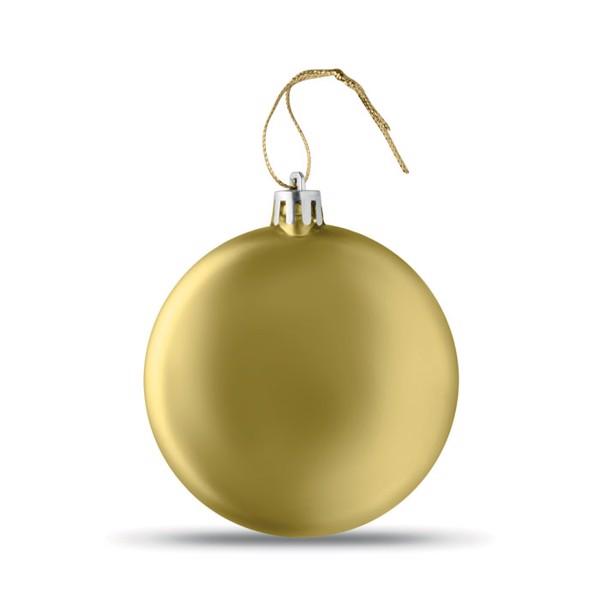 Bombka Lia Ball - matowy złoty