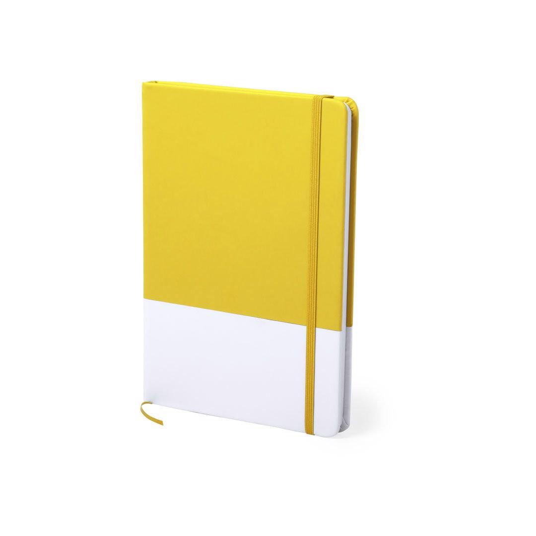 Bloco de Notas Mirvan - Amarelo