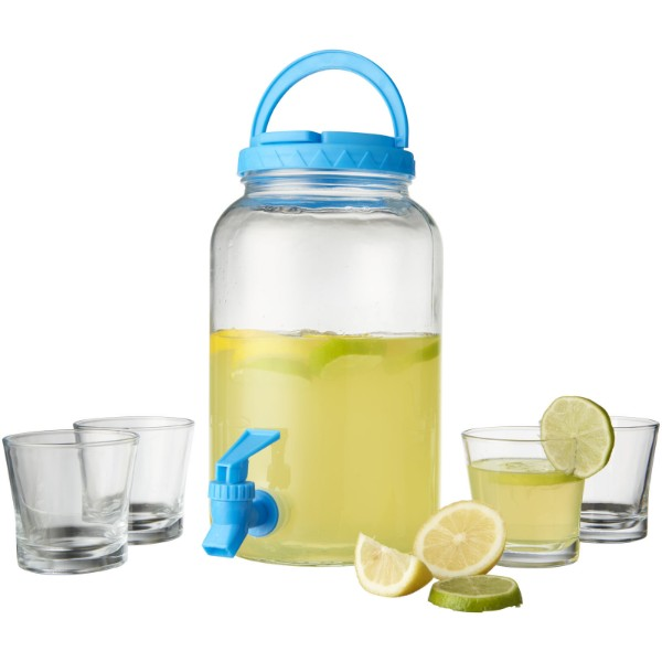 Festi 5-piece beverage dispenser set