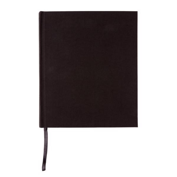 Luxusní poznámkový blok 170x200mm - Černá