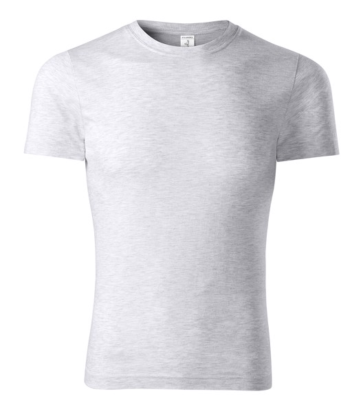 T-shirt unisex Piccolio Paint - Ash Melange / M