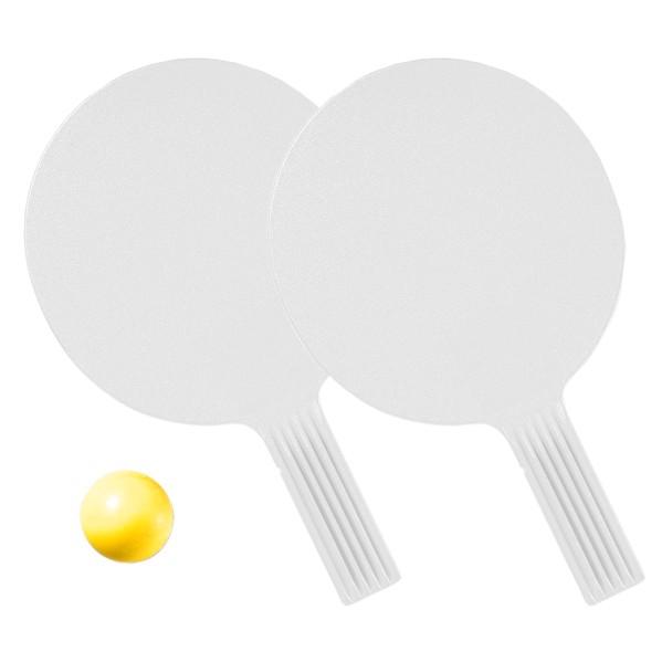 """Tischtennis-Set """"Massiv"""" - Weiß"""