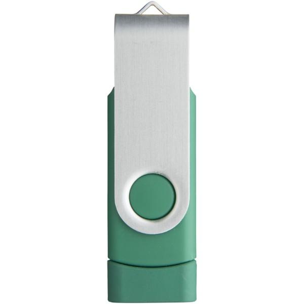 Rotační USB OTG - Zelená / 16GB
