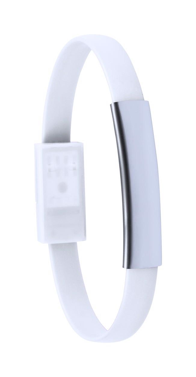 Bracelet Usb Charger Ceyban - White