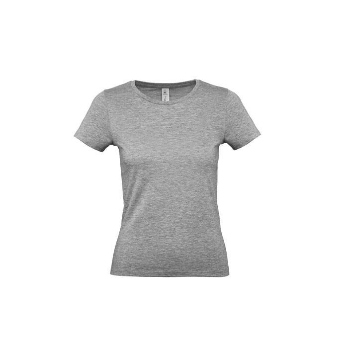 Damski T-shirt 145 g/m² #E150 /Women T-Shirt - Sport Gris (RS) / XS
