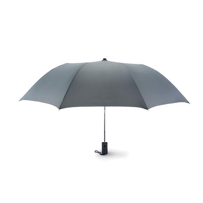 21 inch foldable  umbrella Haarlem - Grey
