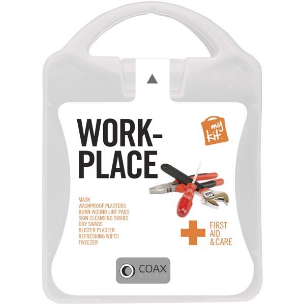 MyKit Kit de primeros auxilios Lugar de trabajo - Blanco