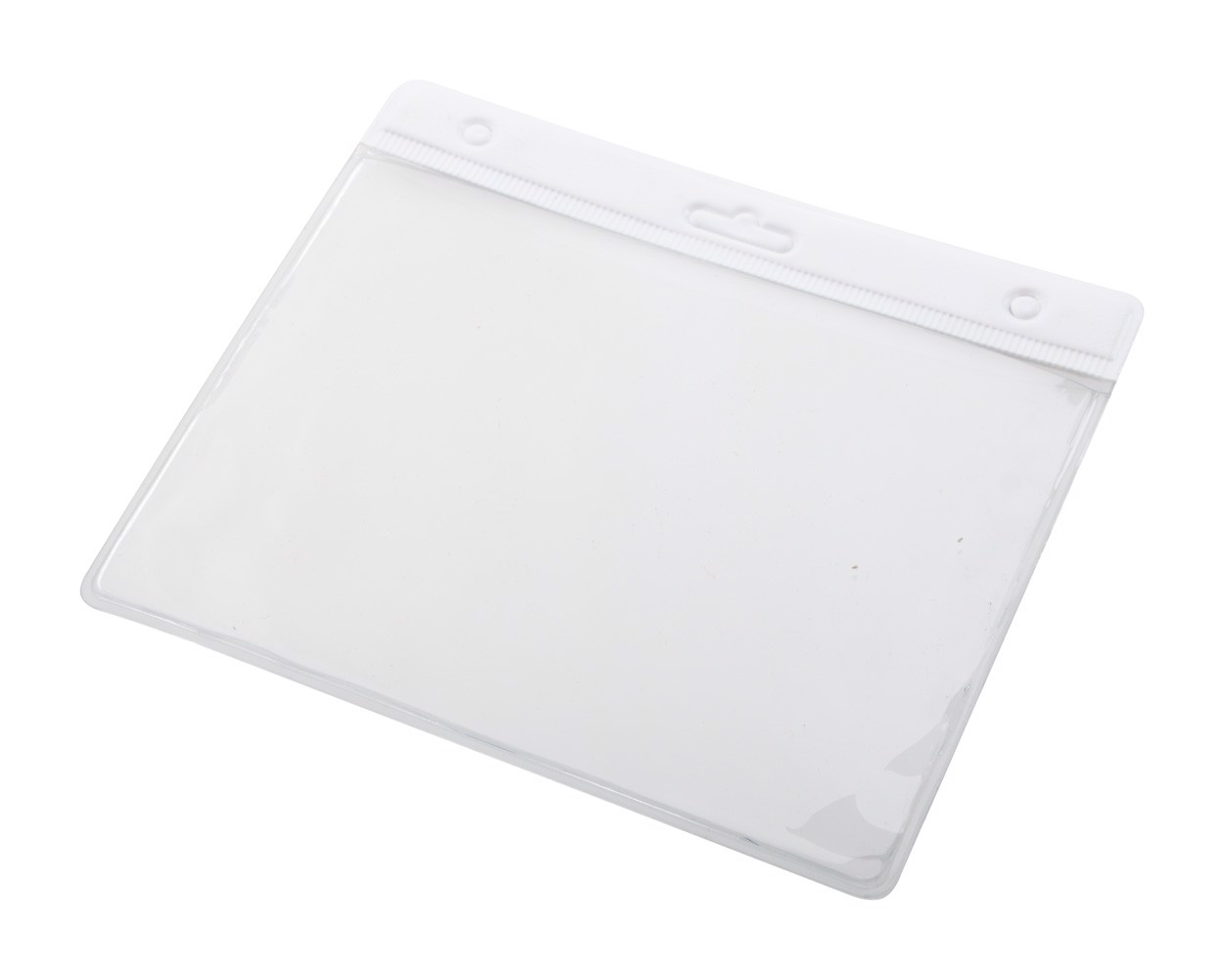 Badge Holder Alter - White / Transparent