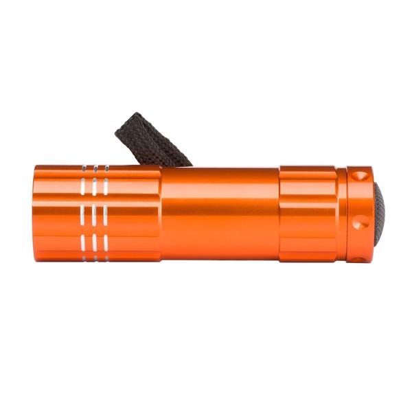 Latarka LED Jewel - Pomarańczowy