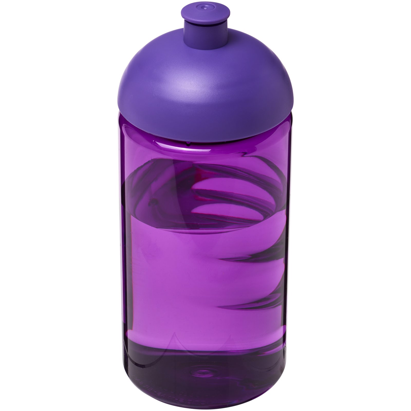 Láhev s kupolovitým víčkem H2O Bop® 500 ml - Purpurová