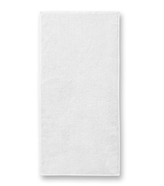 Towel unisex Malfini Terry Towel - White / 50 x 100 cm