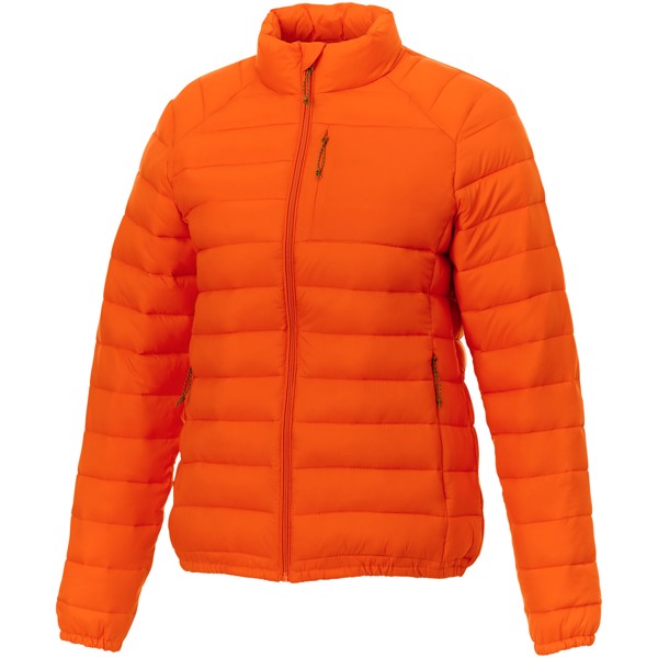 Athenas women's insulated jacket - Orange / XXL