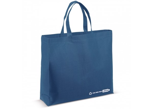 Schoulder bag R-PET 100g/m² - Dark Blue