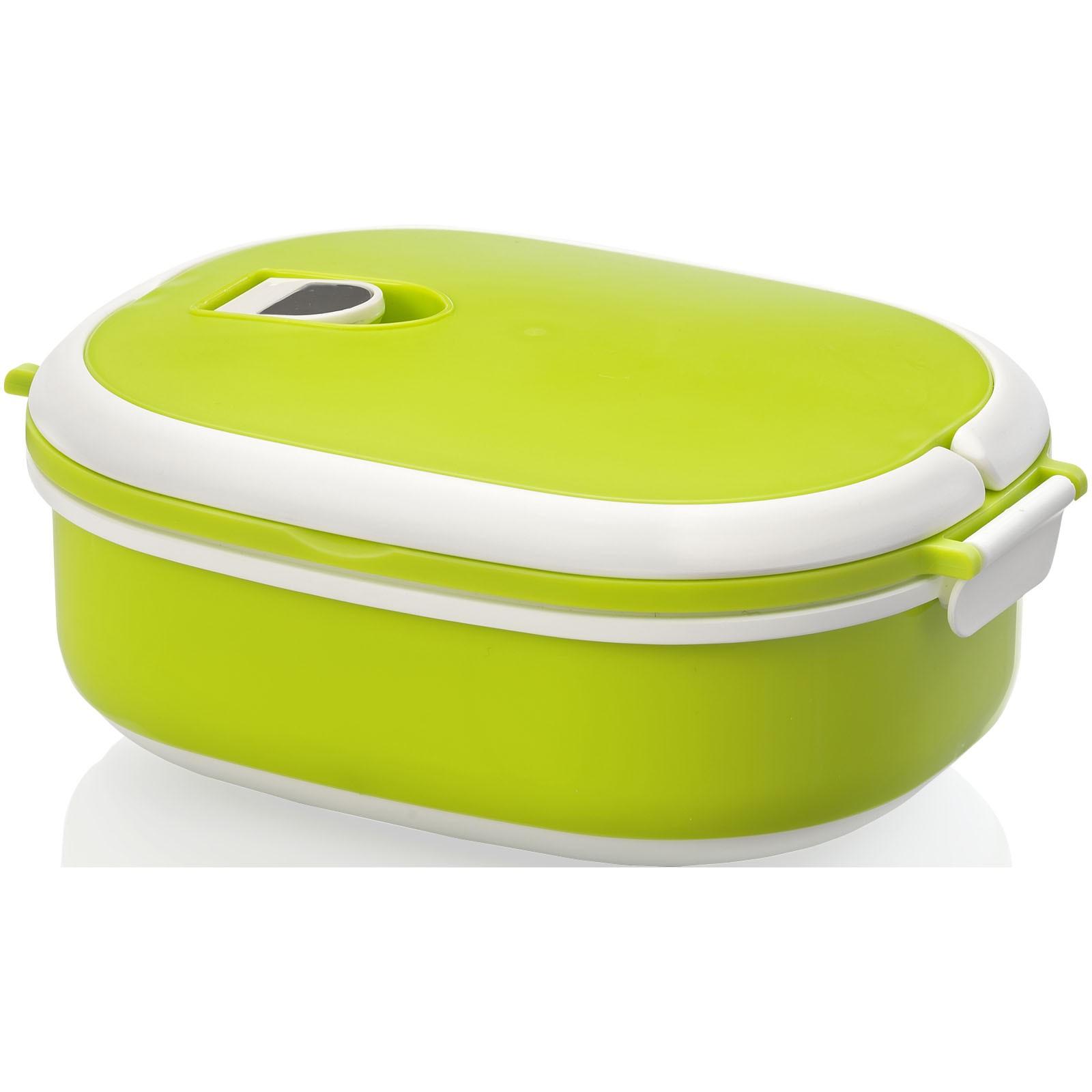 Spiga 750 ml lunch box - Lime / White