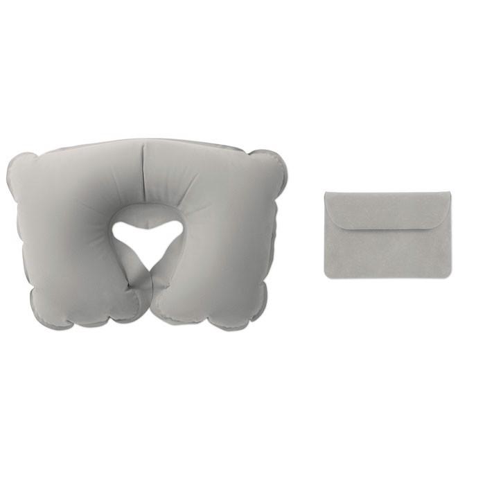 Nafukovací cestovní polštářek Travelconfort - grey