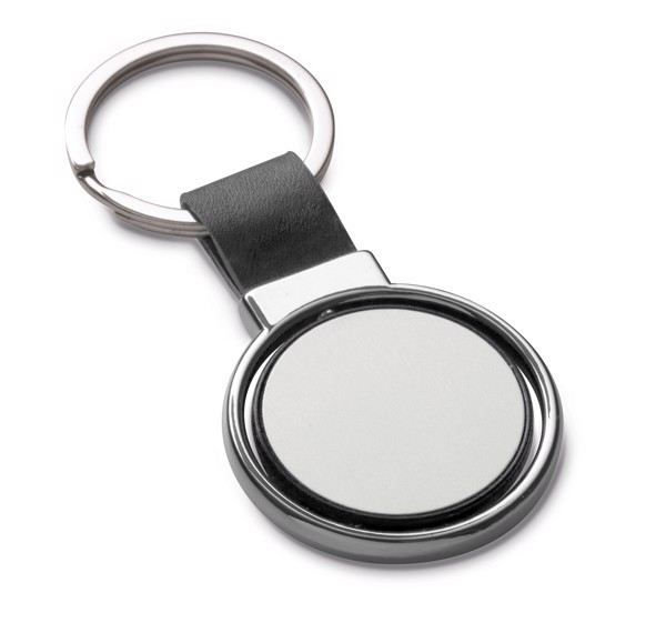 ALBRIGHT. Keyring - Black