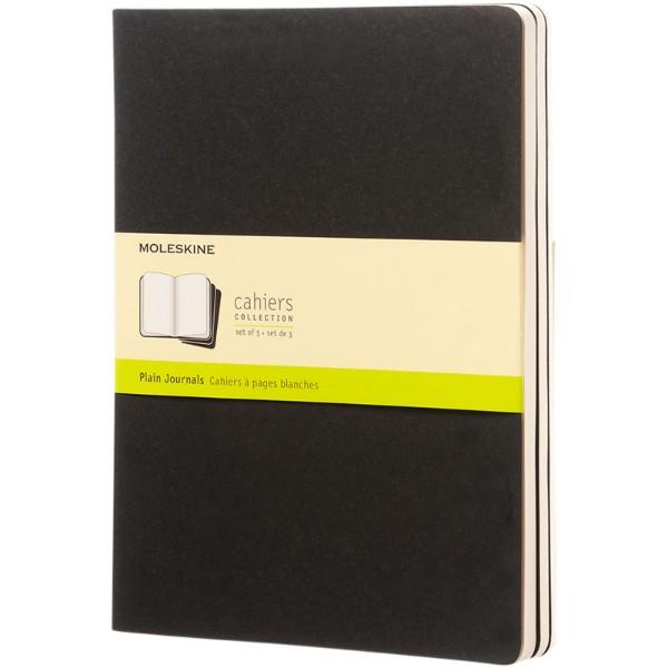 Cahier Journal XL - plain - Solid black