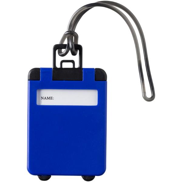 Taggy luggage tag - Blue
