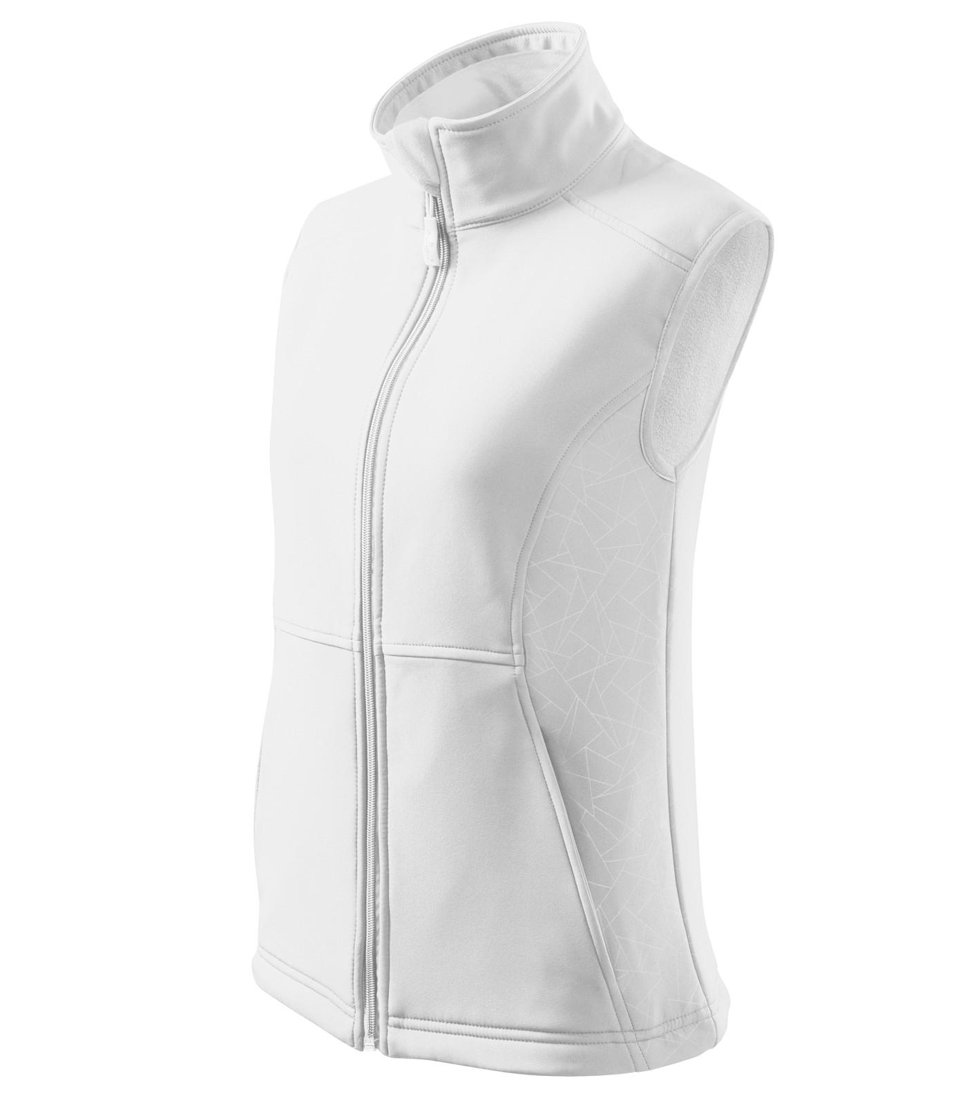 Softshellová vesta dámská Malfini Vision - Bílá / L