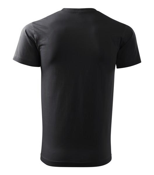 Tričko pánské Malfini Basic - Ebony Gray / XS