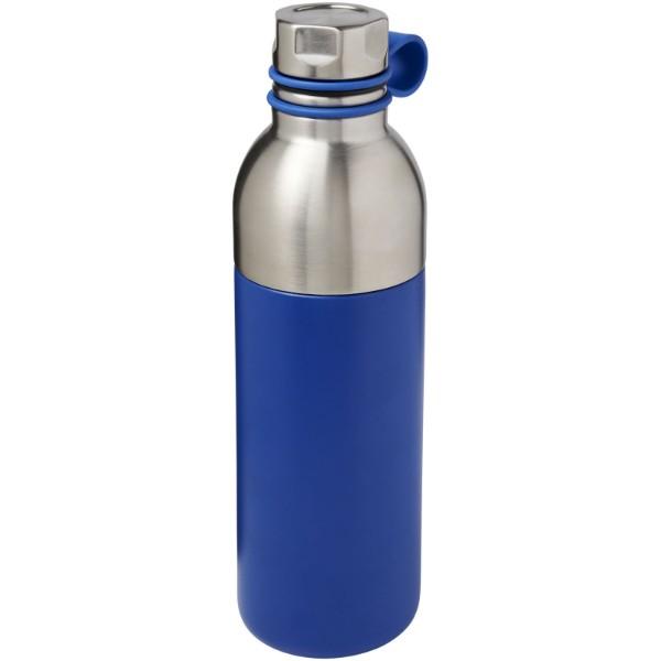 Koln 590 ml copper vacuum insulated sport bottle - Blue