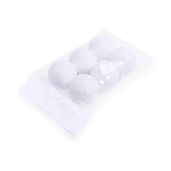 Set Adornos Yenkit - Blanco