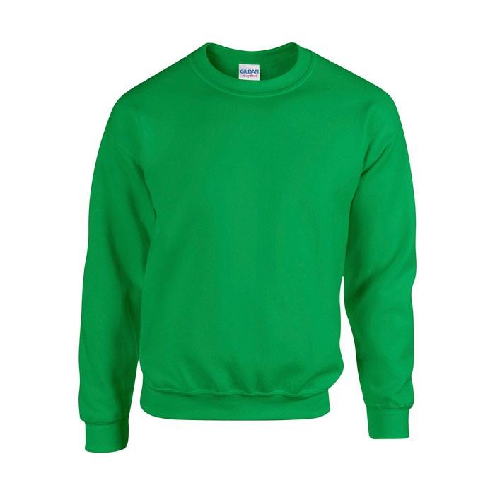 Unisex Bluza 255/270 g/m2 Heavy Blend Sweat 18000 - Irish Verde / L