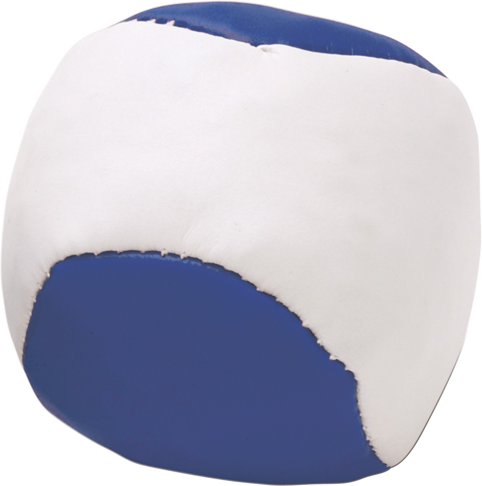 Imitation leather juggling ball - Blue