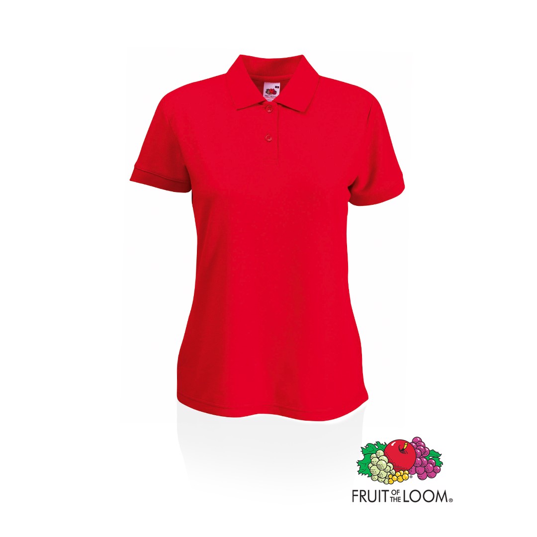 Polo Mujer 65/ 35 - Rojo / XS