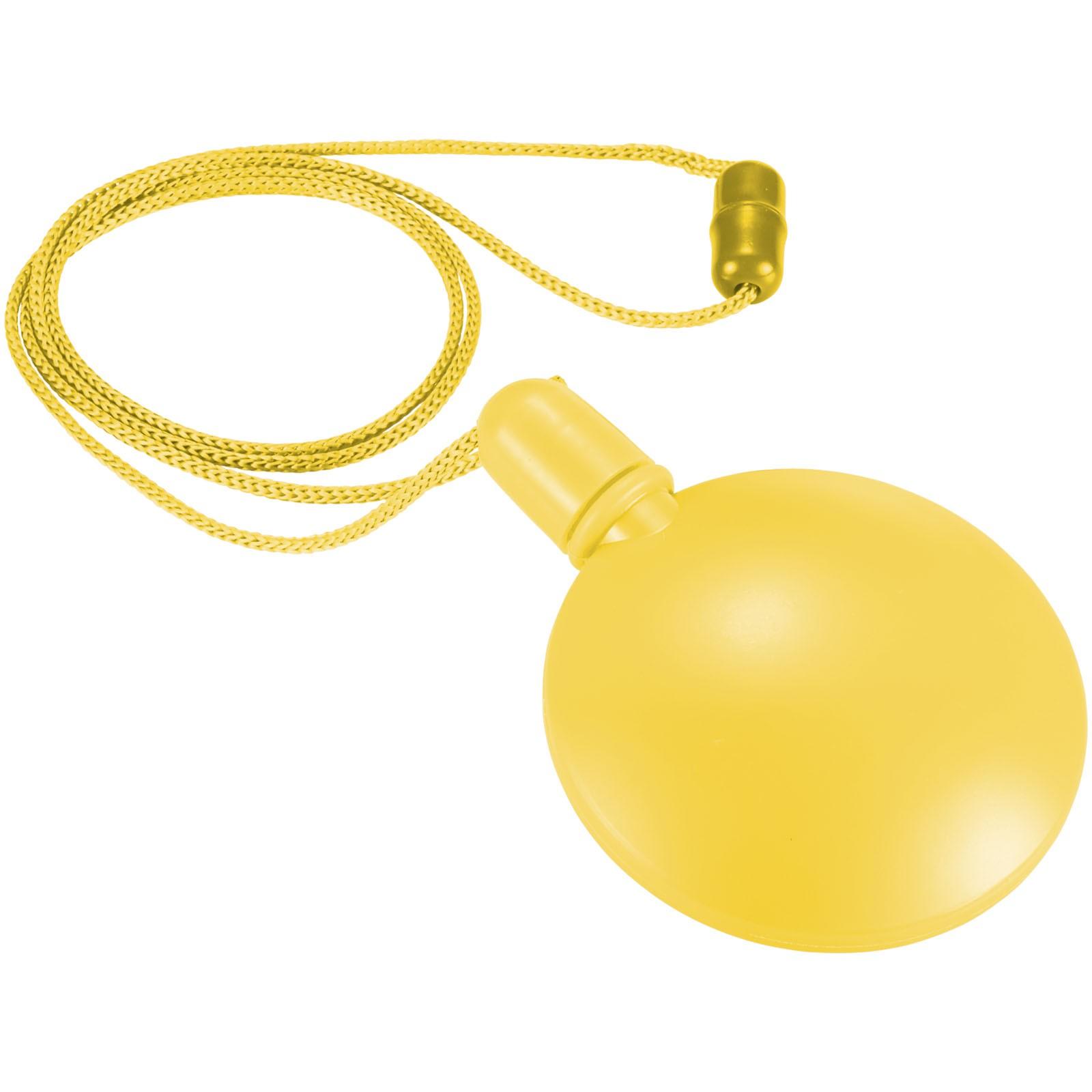 Blubbler runder Seifenblasenspender - Gelb