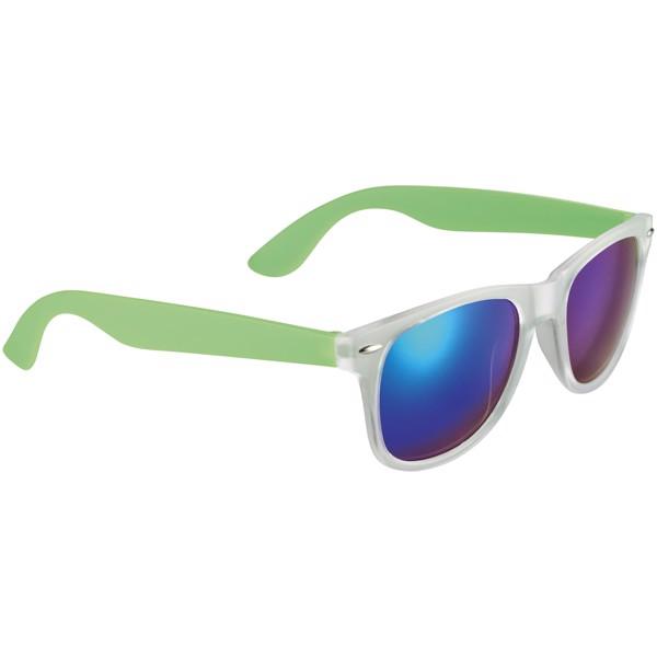 Sluneční brýle Sun Ray se zrcadlovými skly - Limetka
