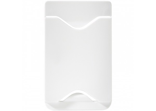 Phone card holder - White
