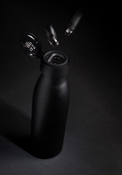 Swiss Peak vákuum palack mini vezeték nélküli fülhallgatóval