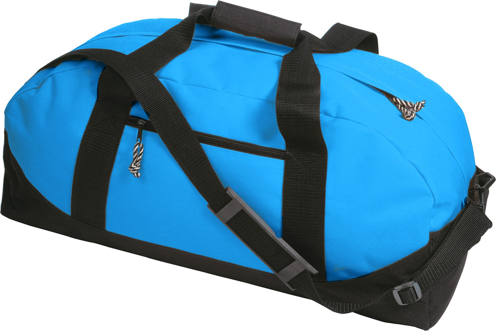 Polyester (600D) sports bag - Light Blue