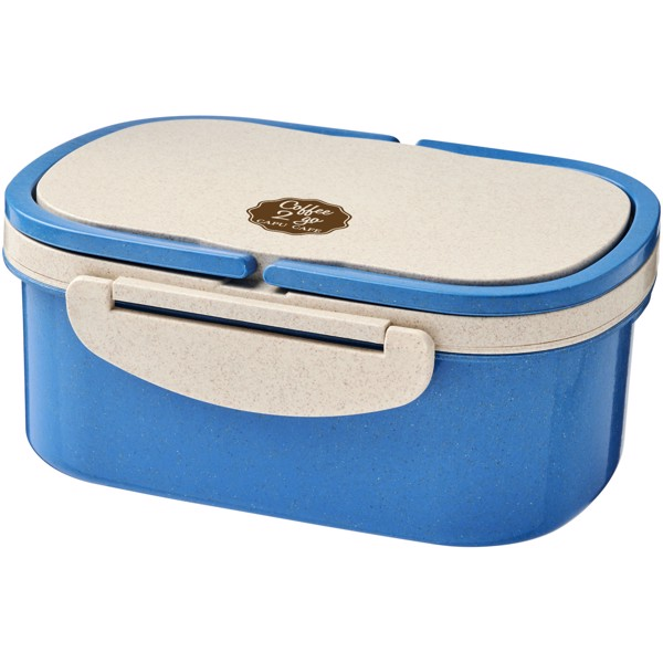 Crave wheat straw lunch box - Blue