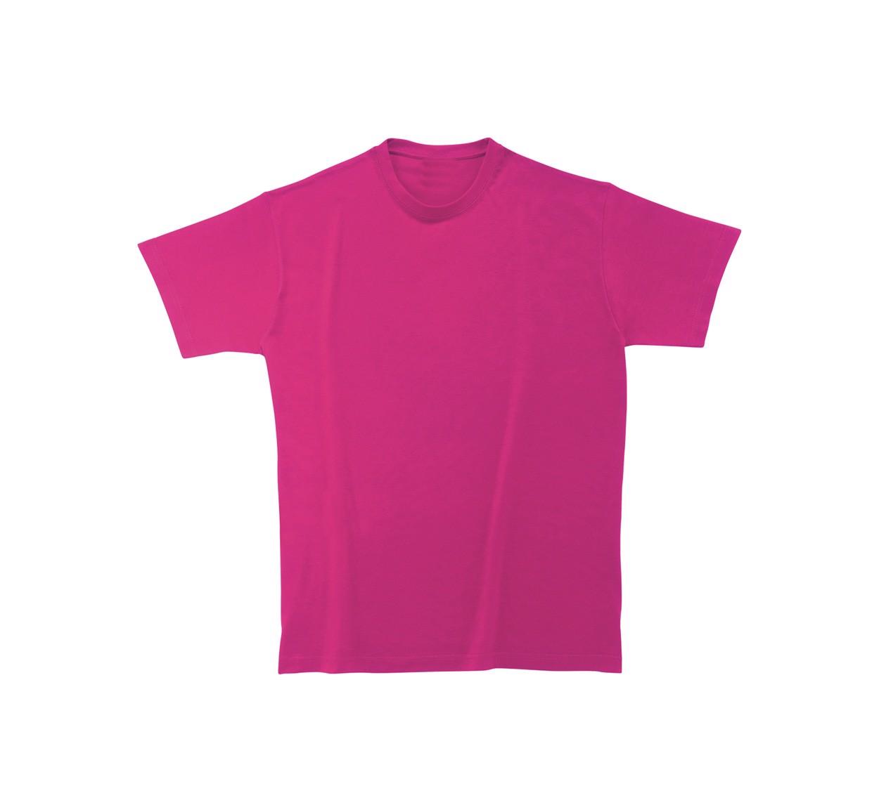 Tričko Heavy Cotton - Růžová / S