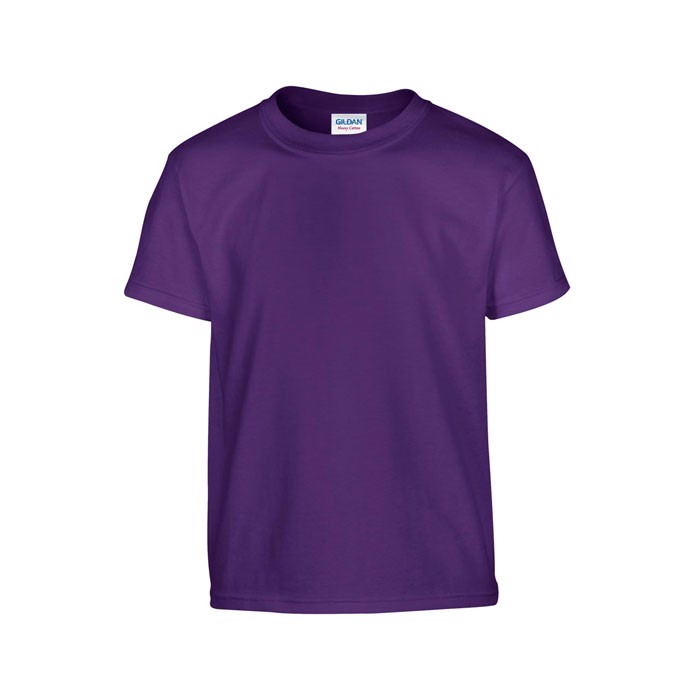 Youth t-shirt 185 g/m² Heavy Youth T-Shirt 5000B - Purple / L