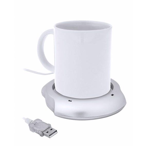Calentador Tazas Mug - Blanco