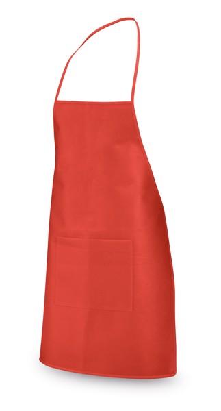 CELERY. Non-woven apron - Red