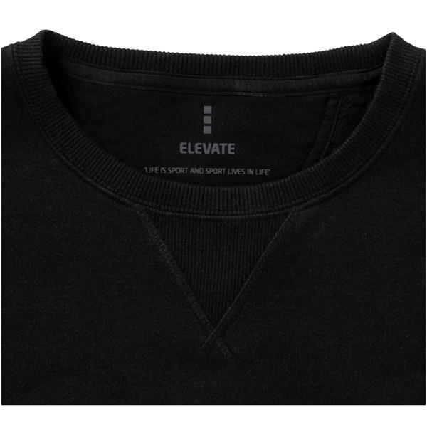 Surrey crew Sweater - Solid black / XXS