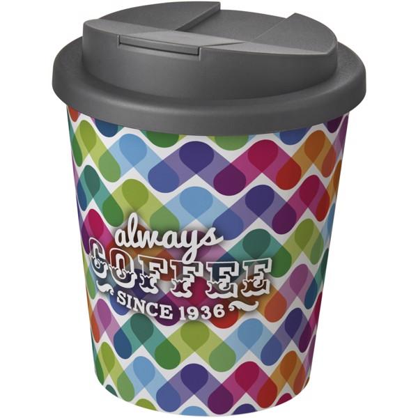 Brite-Americano Espresso® 250 ml with spill-proof lid - White / Grey