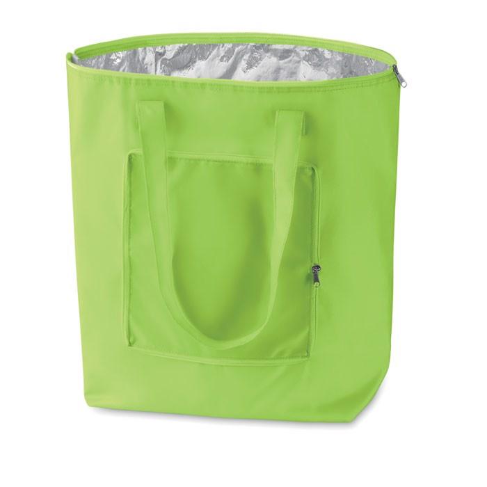 Foldable cooler shopping bag Plicool - Lime