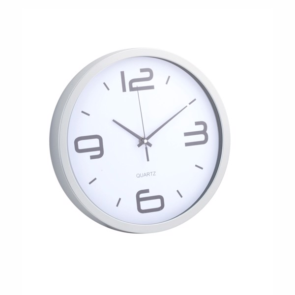 Wall Clock Cronos - White