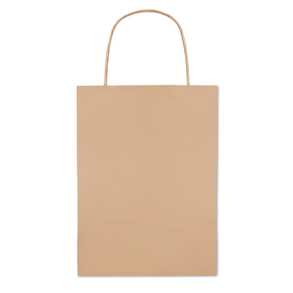 Gift paper bag small size Paper Small - Beige