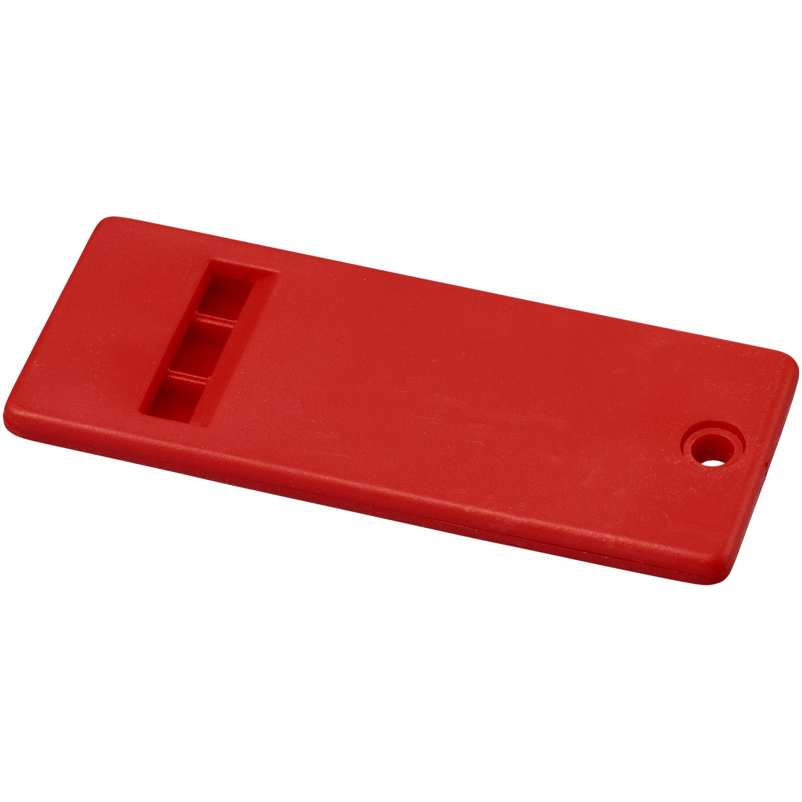 Wanda flat whistle with large branding surface - Red