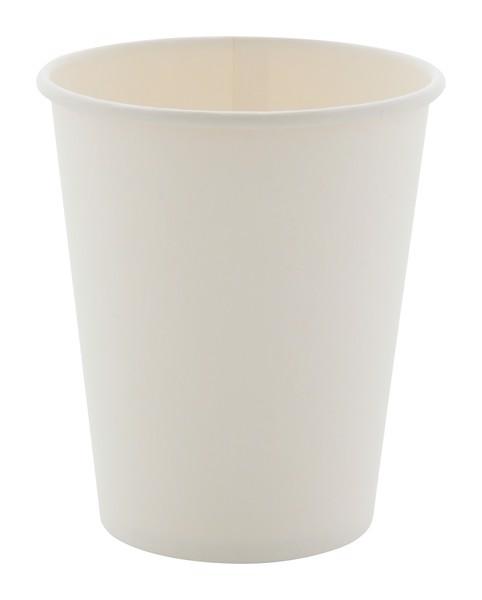 Papírový Kelímek Papcap M, 240 Ml - Bílá