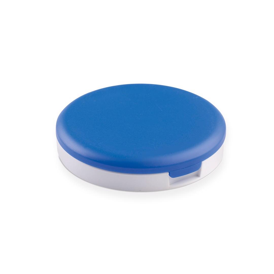Espejo Soporte Senet - Blanco / Azul