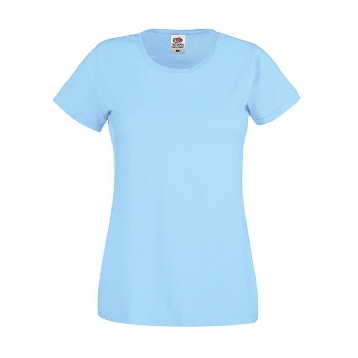 Lady-Fit T-shirt 145 g/m² Lady-Fit Original Tee 61-420-0 - Sky Blue / S