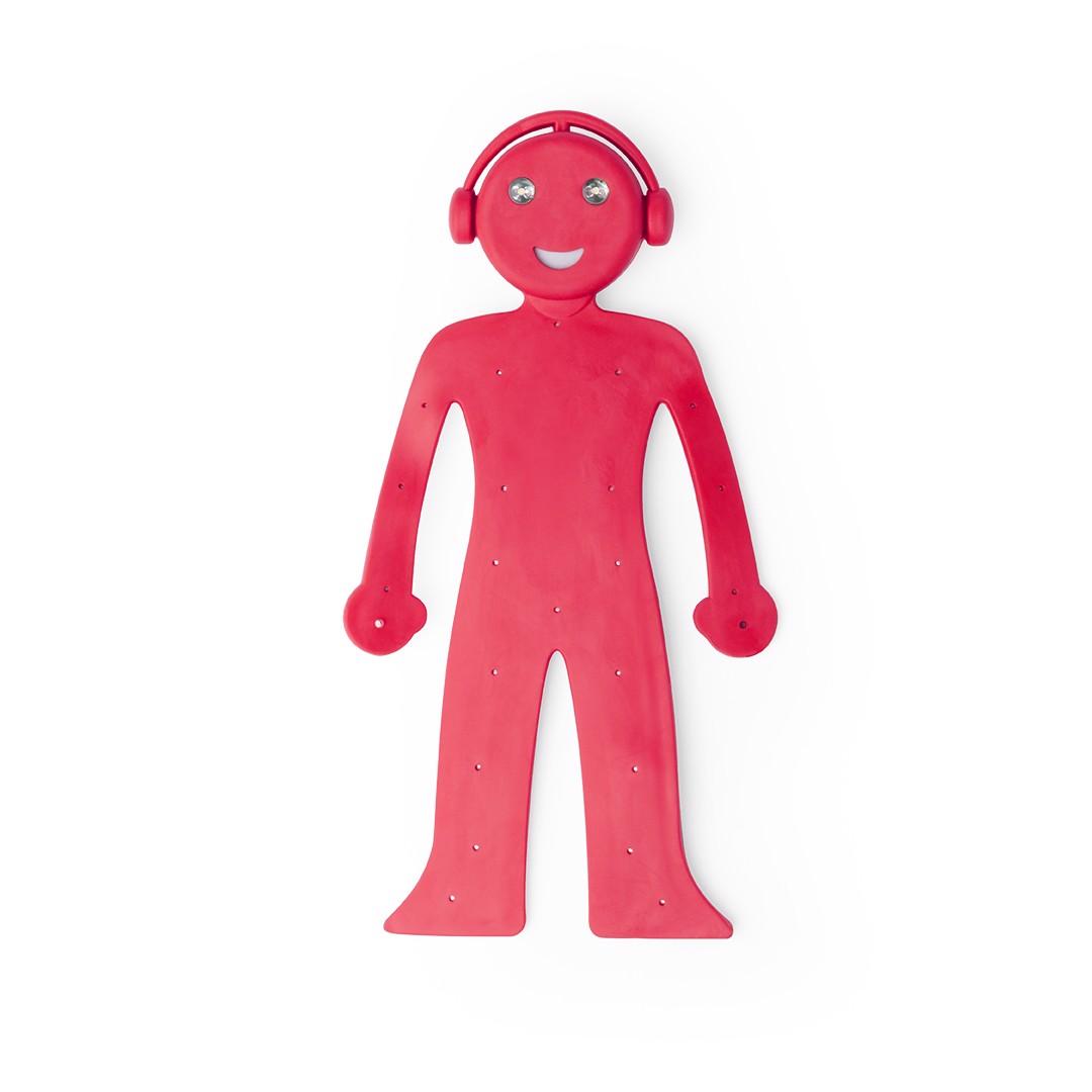 Lámpara Soporte Rapsi - Rojo