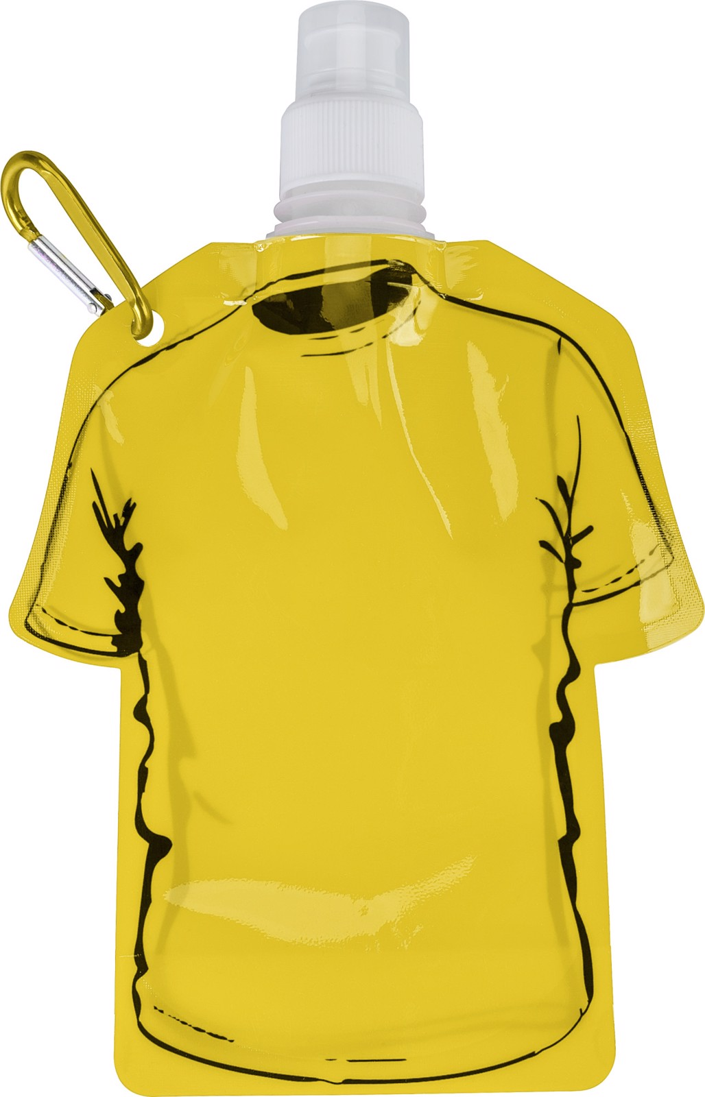 PP bottle - Yellow